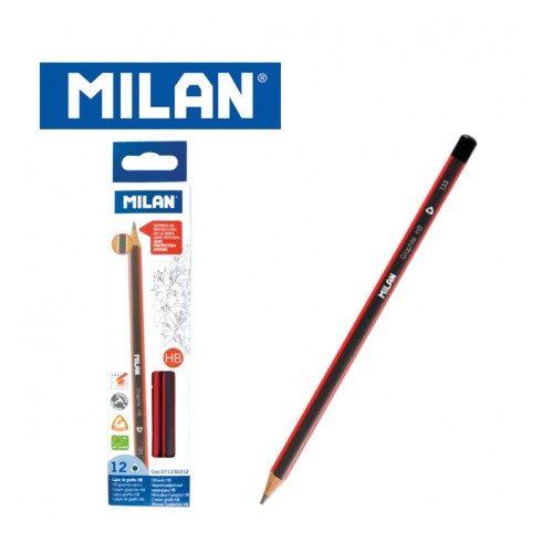 Milan ceruza háromszögletű különböző keménységekben