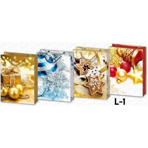 """Dísztasak karácsonyi """"L"""""""
