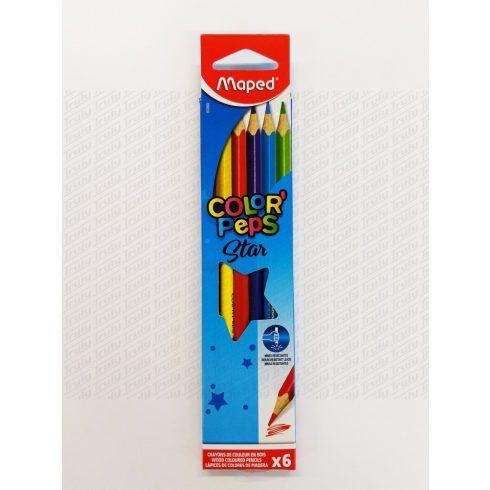 Maped színes ceruza, 6os háromszögletű