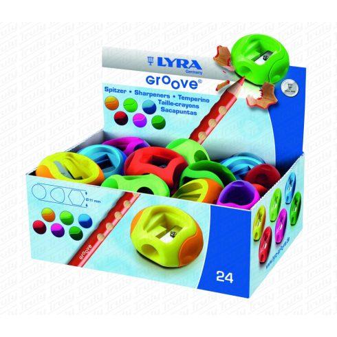 Lyra hegyező Groove egylyukú