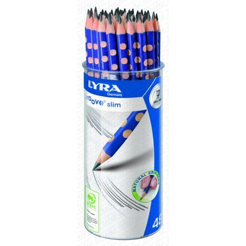 Lyra ceruza Groove Slim HB 48 darabos