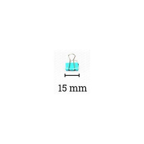 Binder kapocs színes 15 mm, Deli 8556