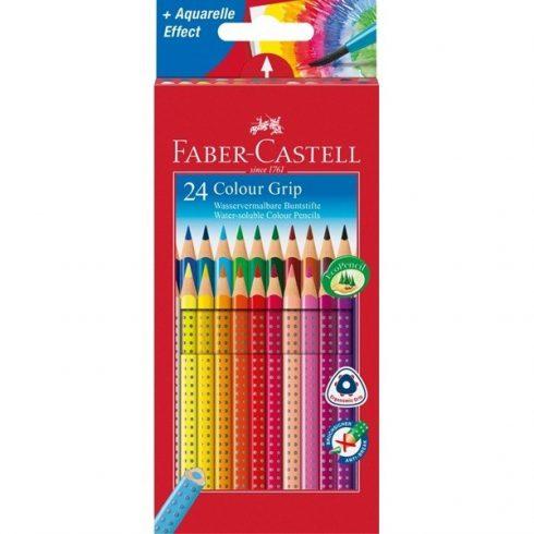 Faber Castell színes ceruza Grip 24 darabos
