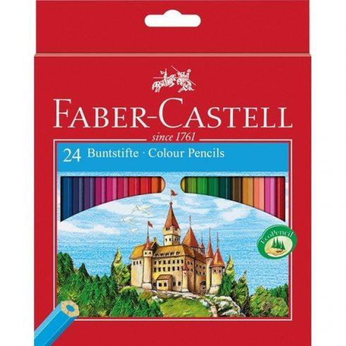 Faber Castell színes ceruza 24 darabos vármintás