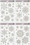 Karácsonyi ablakmatrica 463 ezüst