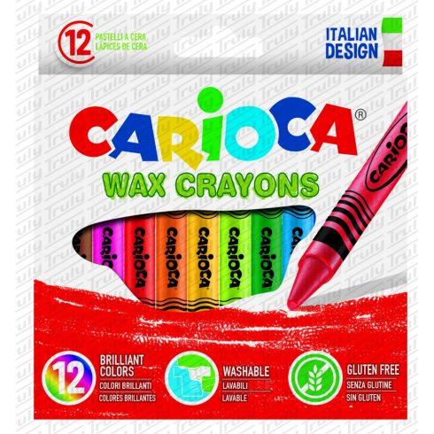 Carioca zsírkréta 12 darabos vékony 42365