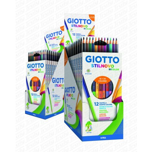 Giotto Stilnovo Bicolor színes ceruza 12es