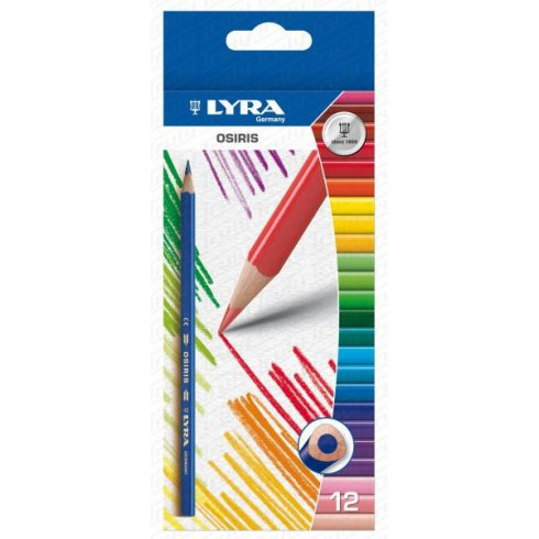 Lyra színes ceruza 12 darabos Osiris
