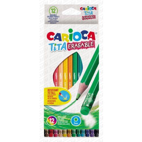 Carioca színes ceruza 12 darabos radíros 42897