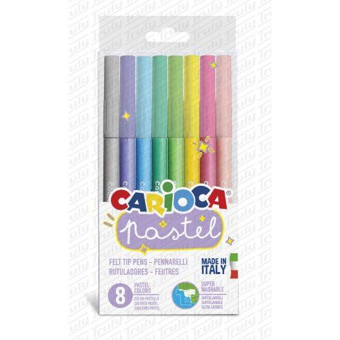 Carioca filc 8 darabos pasztel 43032