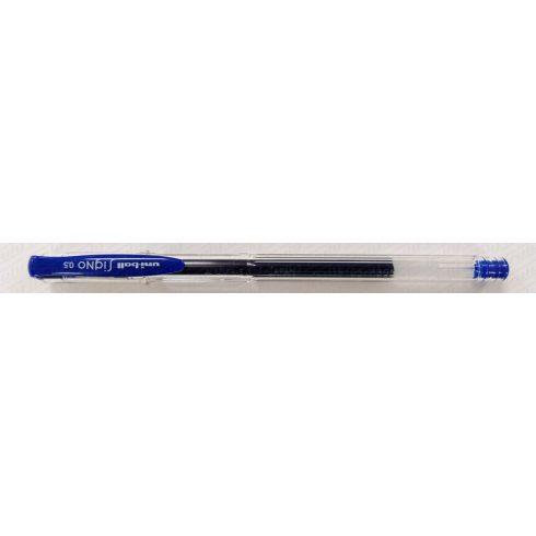 Uni zselés toll UM-100 kék 0,5
