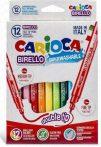 Carioca Birello kétvégű 12-es filctoll készlet 41457