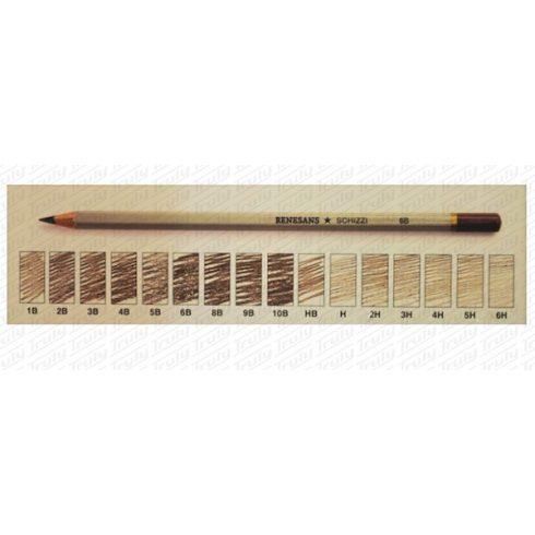 Ceruza Renesans 10B - 6H