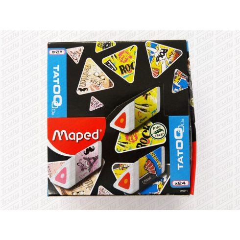 Maped radír Pyramide - vegyes minták