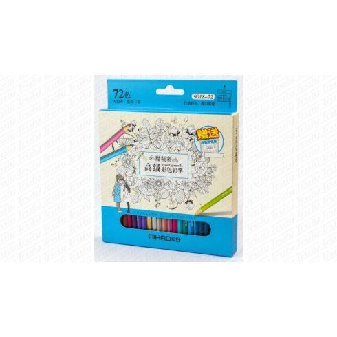 Aihao színes ceruza 72 darabos készlet 9018-72