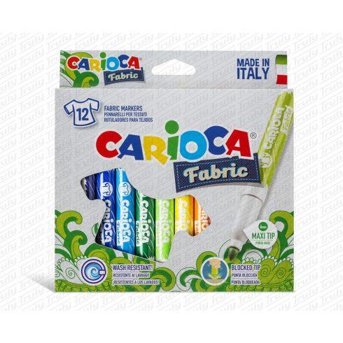 Carioca textilfilc 12 darabos 40957