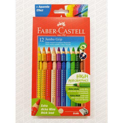 Faber Castell színes ceruza Grip 12 darabos Jumbo