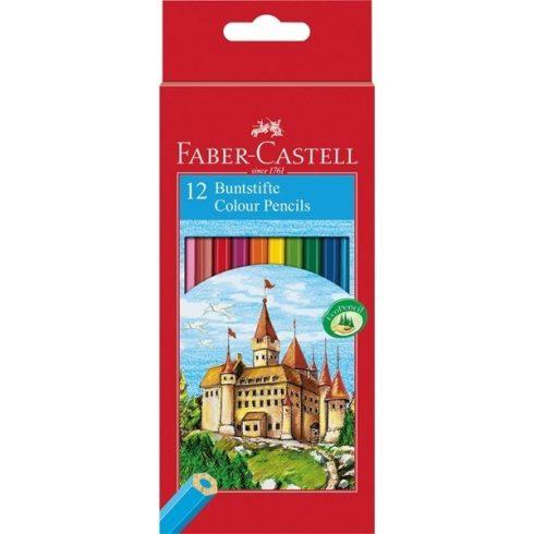 Faber Castell színes ceruza 12 darabos vármintás