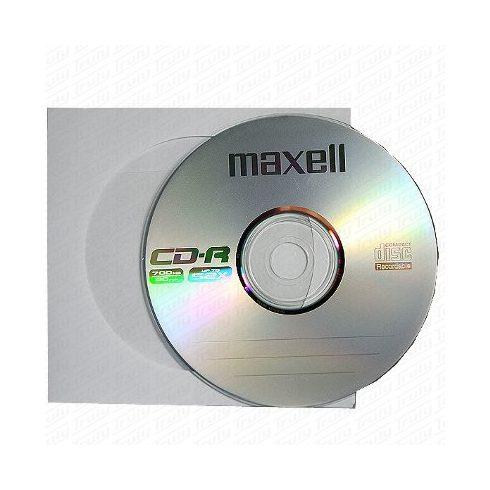 Maxell CD-R80 52x papír tokban