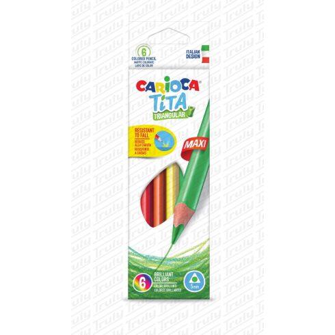 Carioca színes ceruza 6 darabos Maxi 42790