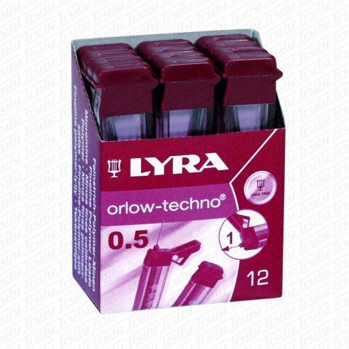 Lyra 0,5 pixbél 4 különböző keménységben