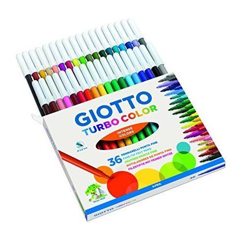 Filc 36 darabos Giotto Turbo Color