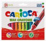 Carioca zsírkréta 24 darabos vastag 42390