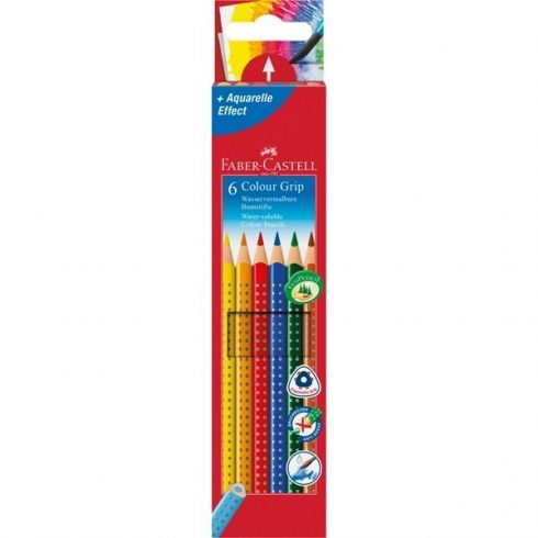Faber Castell színes ceruza Grip 6 darabos