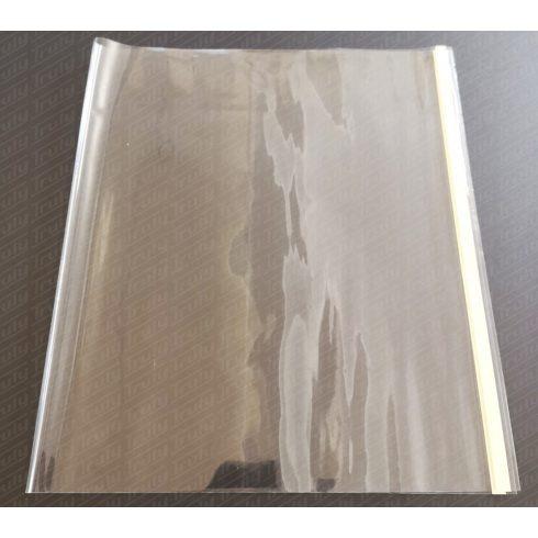 Tankönyvborító víztiszta 45 x 25 cm