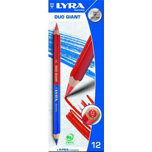 Lyra Duo Giant postairon piros-kék ceruza