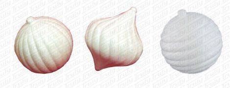 Polisztirol búgócsiga, gömb