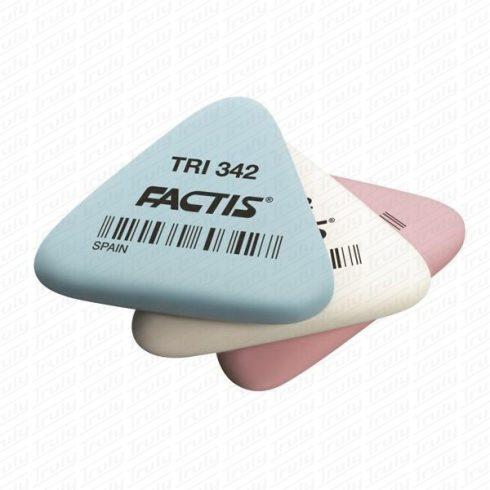 Radír Factis háromszögletű TRI-342