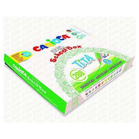 Carioca színes ceruza Tita hatszög 288 darabos 42833