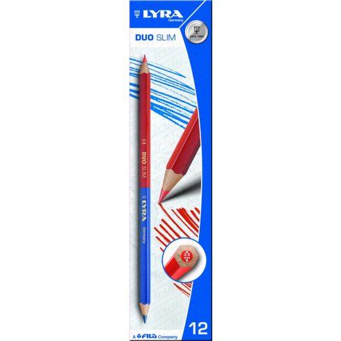 Lyra Duo Slim vékony piros-kék ceruza