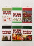 Jutalmazó matrica tömb karácsonyi