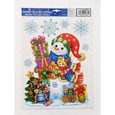 Karácsonyi ablakmatrica 460
