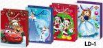 """Dísztasak karácsonyi """"L"""" Disney"""