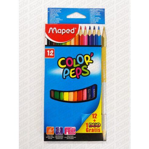 Maped színes ceruza 12 darabos háromszög