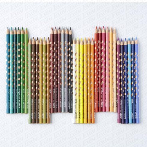 Lyra Groove Slim szóló színes ceruza 24 különböző színben