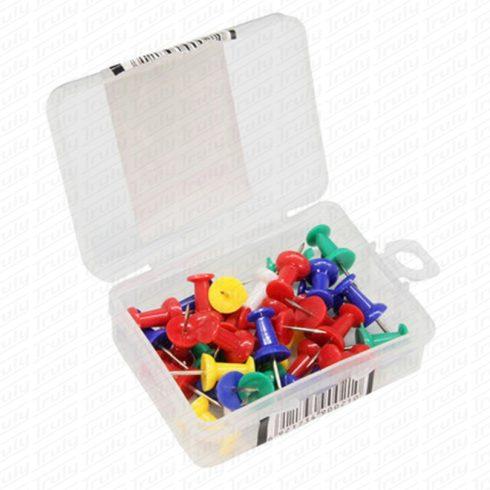 Deli színes push pin (térképtű) 00021