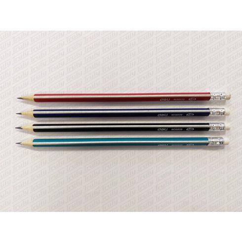 Ceruza Deli háromszögletű HB radíros W38039